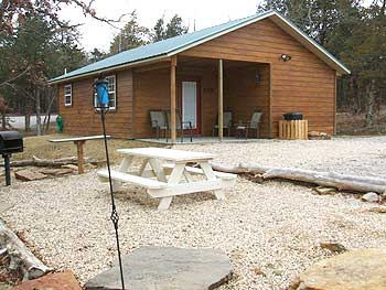 Cabins for Rent in Oklahoma, Bear's Glen Cabins Lake Keystone